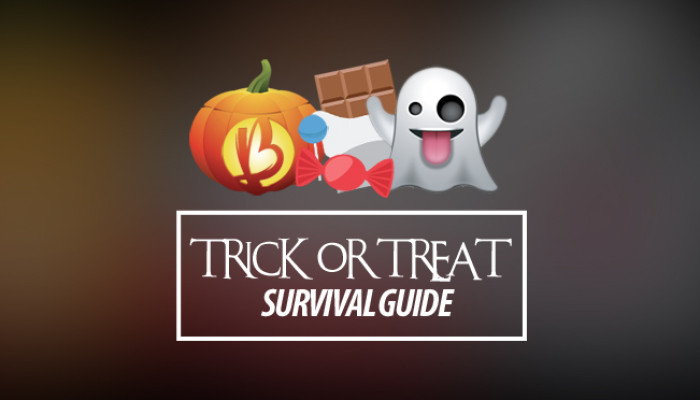 {Healthy Halloween Treats} Trick-or-Treat Survival Guide