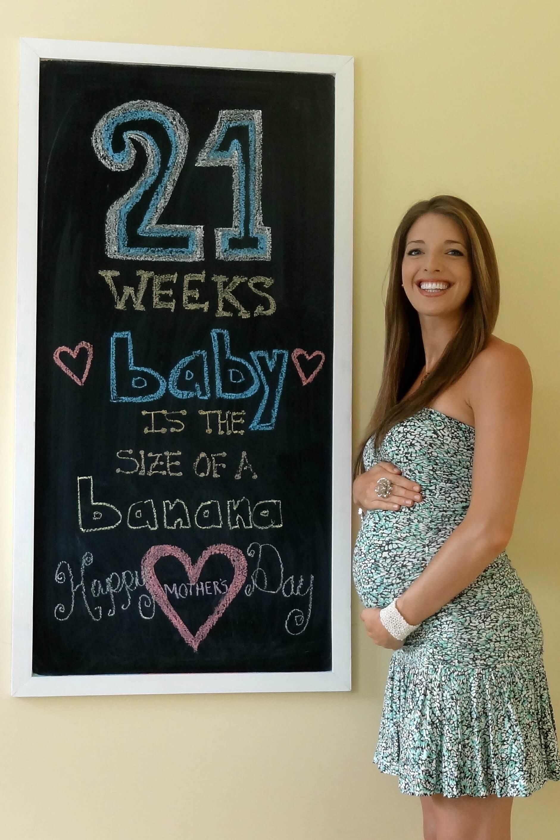 Fit Pregnancy Week By Week 21 Beyondfit Mom
