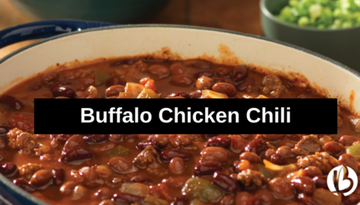 {Healthy Lunch Ideas} Buffalo Chicken Chili
