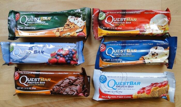 quest flavors