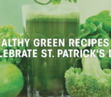 fit moms, healthy green recipes, st. patrick's day
