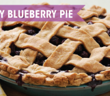 {Recipe} Healthy Blueberry Pie