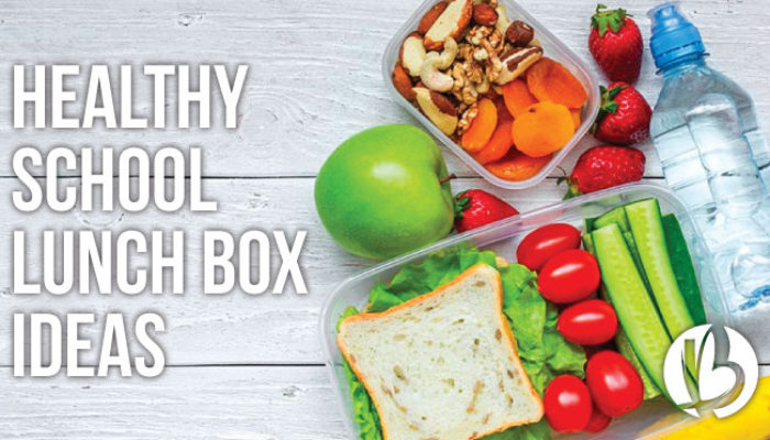 Healthy School Lunch Box Ideas