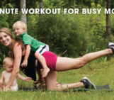 5 Minute Workout for Busy Moms!