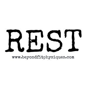 knowing when to rest, exercise rest