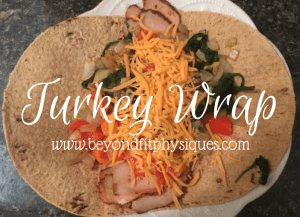 {Recipe} Turkey Wrap with Homemade Chips & Salsa