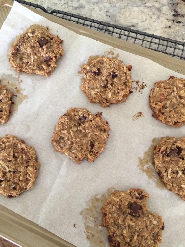 Ban-Oat Breakfast Cookies