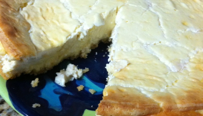 {Recipe} Peanut Butter Protein Cheesecake