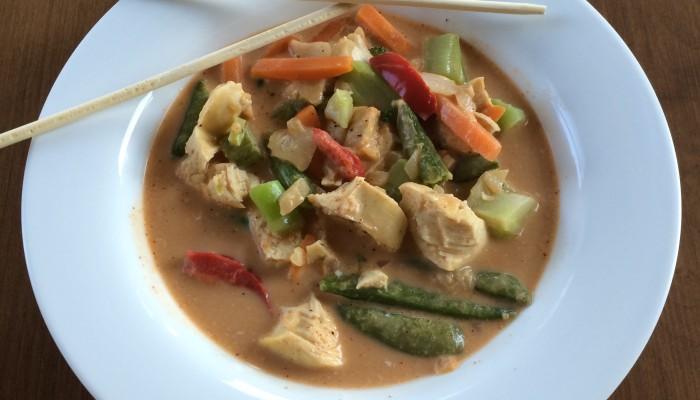{Recipe} Thai Red Chicken Curry