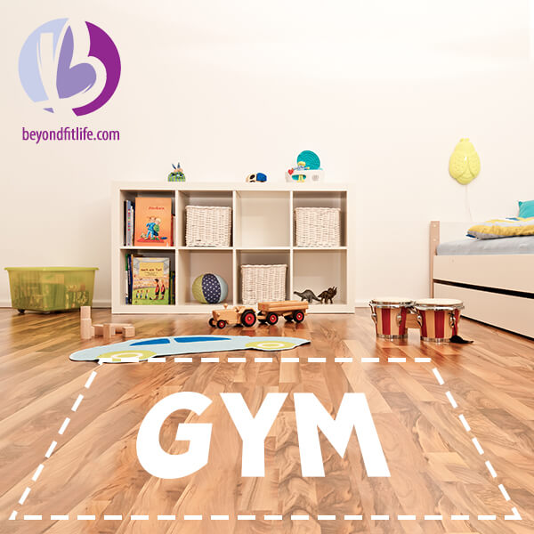 bodyweight workout, home gym