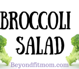 {Recipe} Broccoli Salad