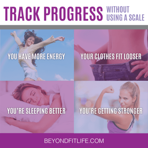 ditch the scale, measure exercise progress