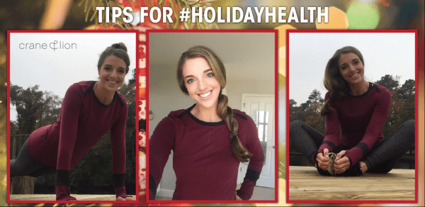 #holidayhealth - blog header