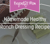 {Recipe} Homemade Healthy Ranch Dressing