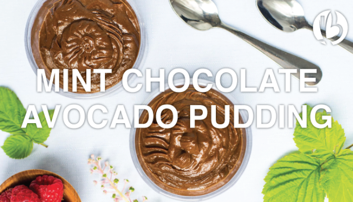 fat loss for moms, mint chocolate avocado pudding, fat loss friendly desserts