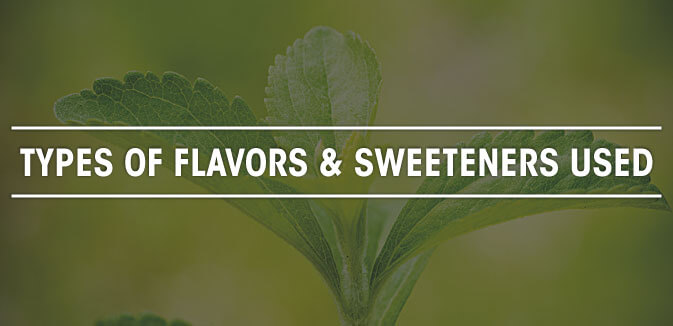TYPES-OF-FLAVORS-AND-SWEETENERS-USED