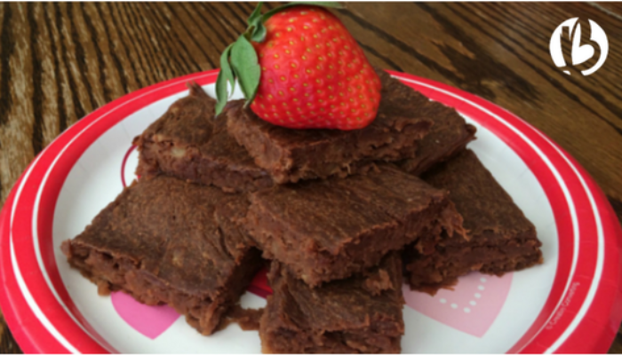Fit moms, healthy desserts, flourless brownies