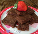 Healthy Flourless Brownies