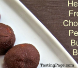 Healthy Chocolate Peanut Butter Balls