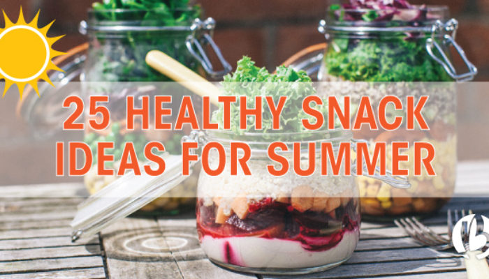 healthy snack ideas for summer
