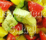 healthy salad, avocado recipe, recipes using avocado
