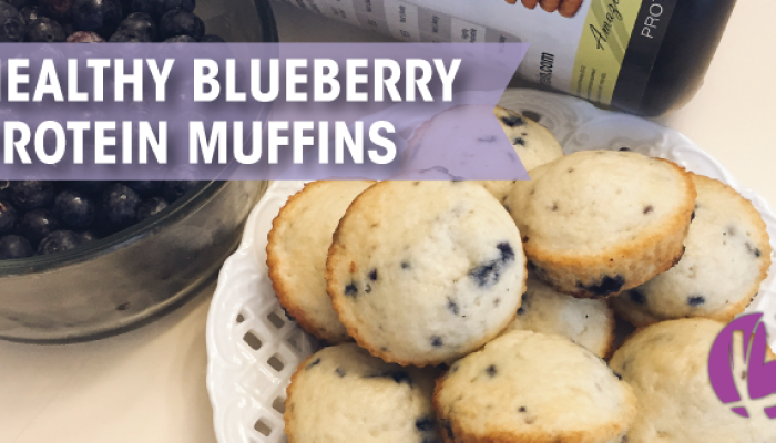 healthy blueberry muffins, muffin recipe, protein muffins, blueberry muffin recipe