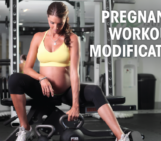 pregnancy workout modifications, pregnancy exercise modifications, fit mom, healthy pregnancy