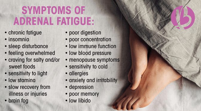 symptoms of adrenal fatigue, adrenal fatigue