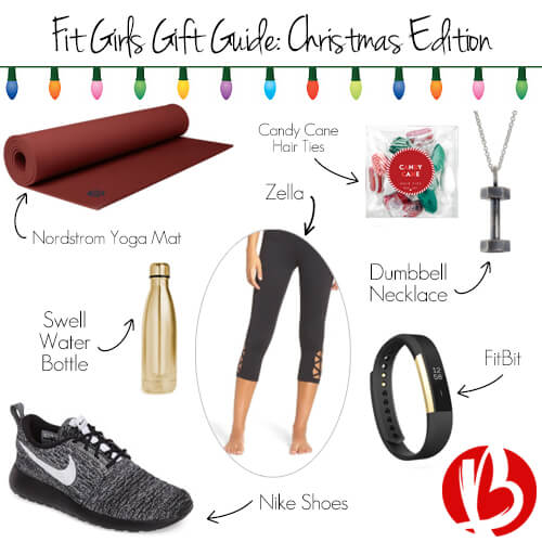 fitness christmas gift guide for women, fit gift giving