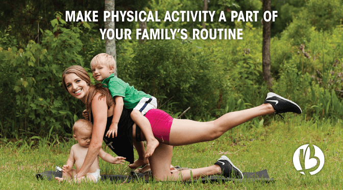 fit family, active family, family activies