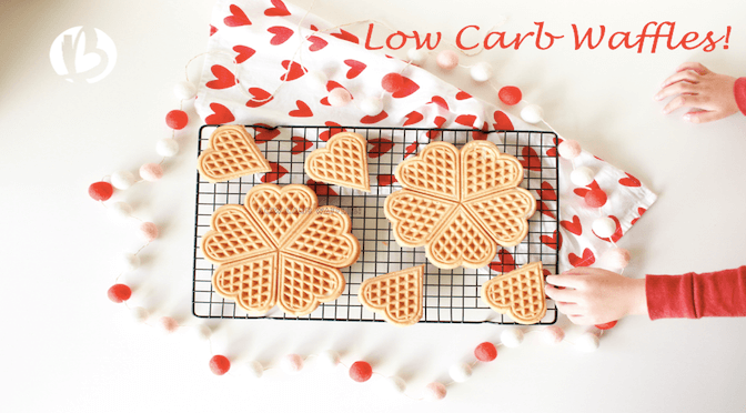 low carb waffles, waffle recipe, low carb breakfast