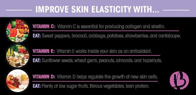foods to improve skin elasticity