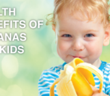 health benefits of bananas for kids, banana recipes, kidzshake, protein for kids
