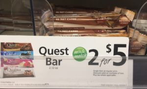 healthy gas station snacks, quest bars, eat healthy while traveling