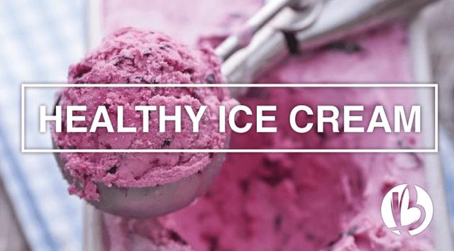 healthy ice cream recipes