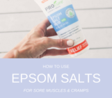 epsom salt, epsom salts, sore muscles, cramps, muscle recovery, procure epsom salt rub