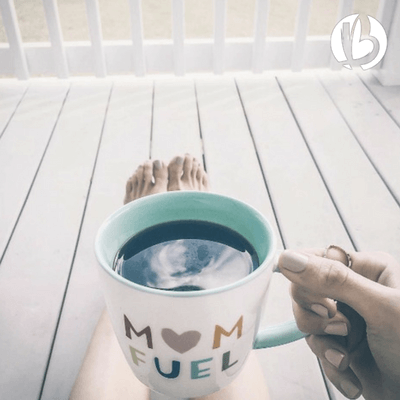 fit mom life, a day in the life of a fit mom, morning coffee