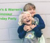 Jackson's & Warren's Dinosaur Birthday Party