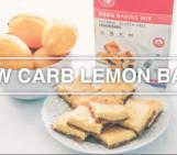 healthy desserts, recipes, Paka Low Carb Lemon Bar Mix