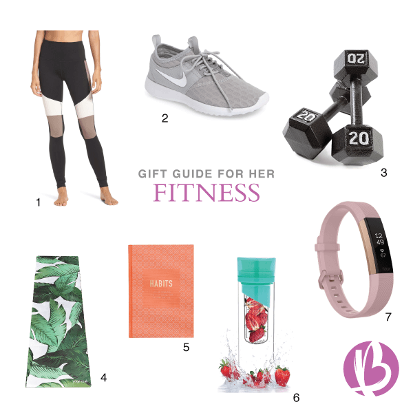 holiday gift guides, for her fitness, fit moms
