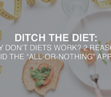 Fat loss for moms, fit moms, ditch the diet