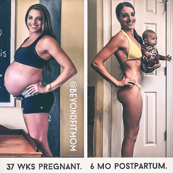 fit moms, fit pregnancy, fat loss for moms