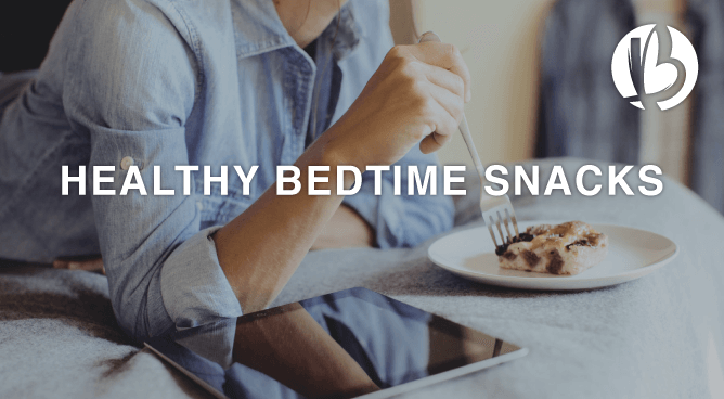 fit moms, healthy snacks, food that helps you sleep