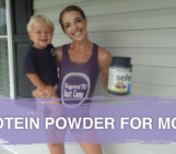 fit moms, fat loss for moms, protein powder for moms