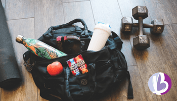 Fit moms, fat loss for moms, gym bag