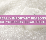 fit moms, healthy kids, reduce sugar