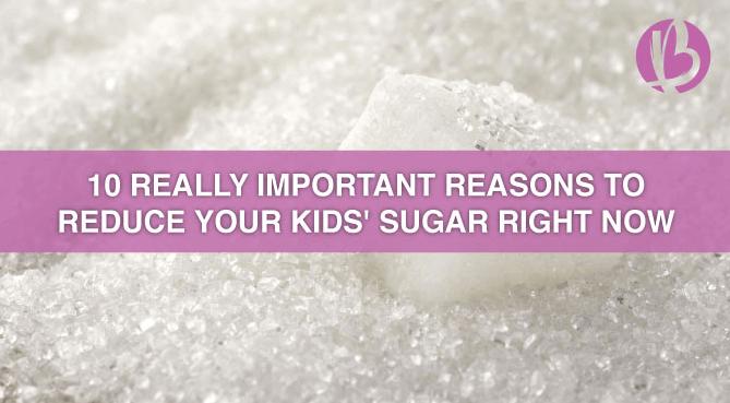 fit moms, healthy kids, reduce sugar